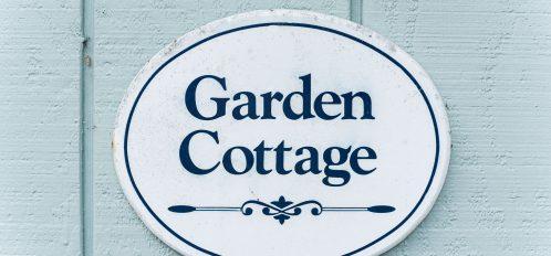 Garden Cottage Sign