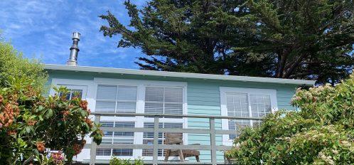 fuchsia cottage exterior