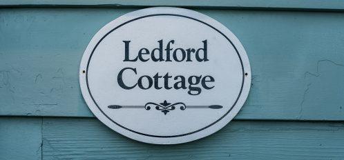 Ledford Sign