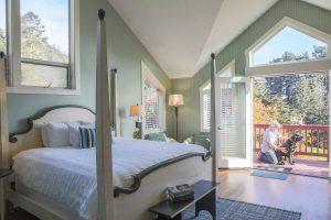 Pacific Room's bedroom view