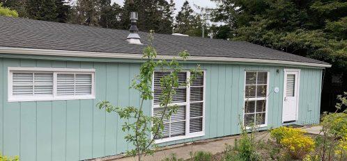 Pomo room's exterior