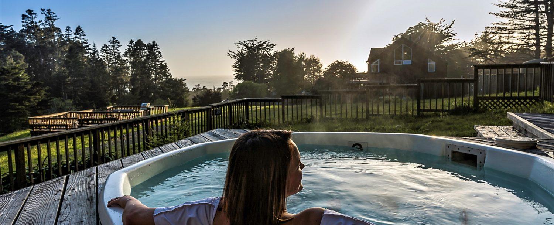 Hot Tub Sunset